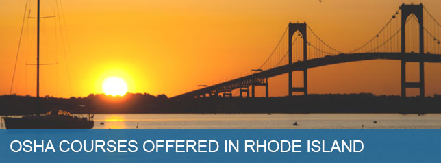 Osha Courses Offered in Rhode Island
